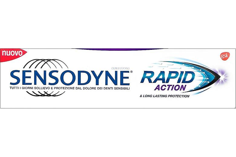 GLAXO SENSODYNE Rapid Action 75ml