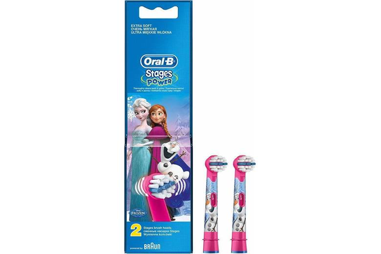 BRAUN Oral-B Replacement Brush Heads Frozen 2p