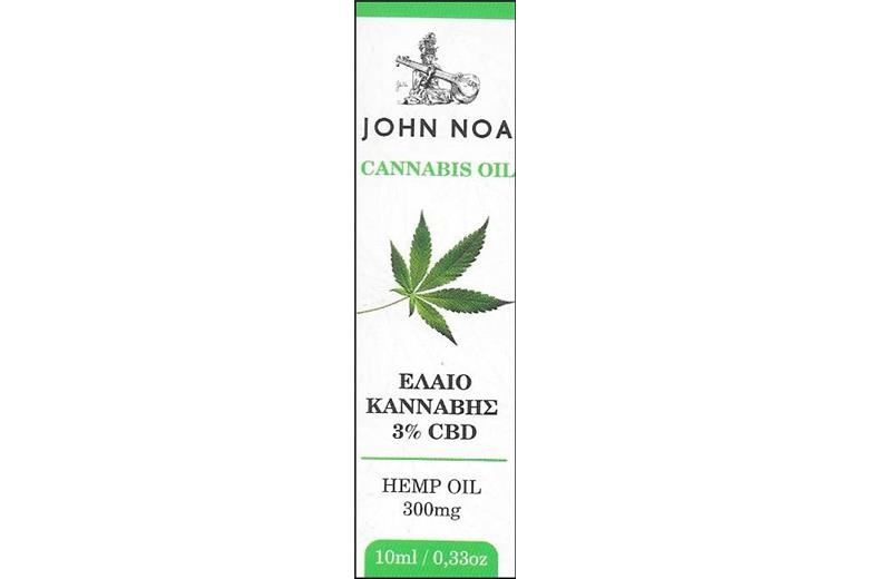 JOHN NOA Cannabis 300mg / 3% CBC (10ml)