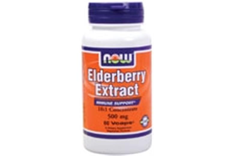 NOW Elderberry Extract 500mg 60vcaps