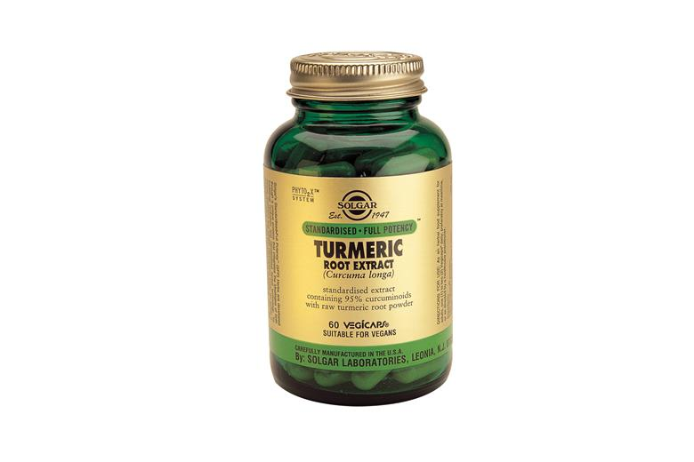 SOLGAR Standardised Full Potency Turmeric Root Extract veg.caps 60s -50% Έκπτωση
