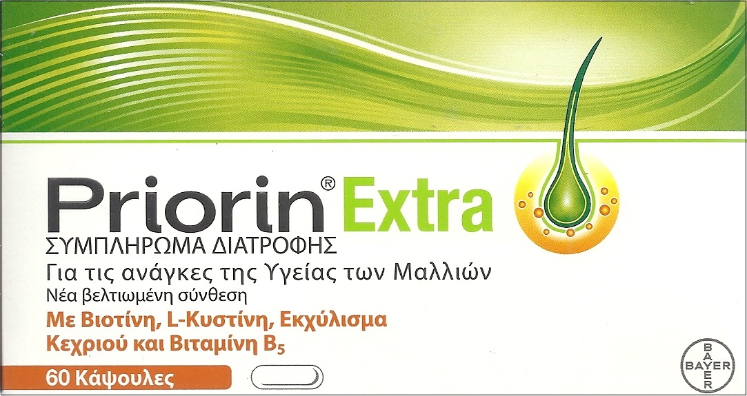 BAYER Priorin Extra 60caps
