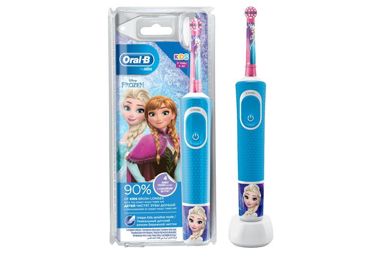 BRAUN Oral-B Stages Power Kids Disney Frozen Battery Toothbrush