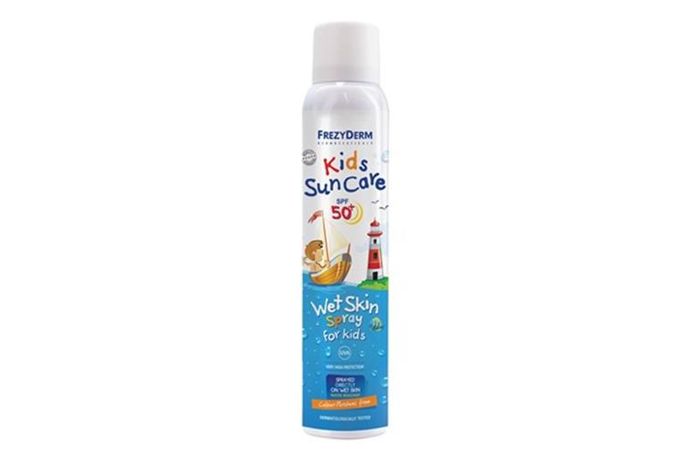 FREZYDERM Kids Sun Care Wet Skin Spray SPF50+ 200ml